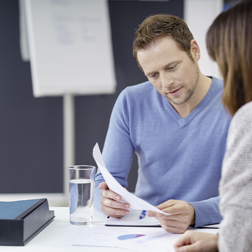Baeuerle Baustoffe Kundenservice Beratungsgespraech