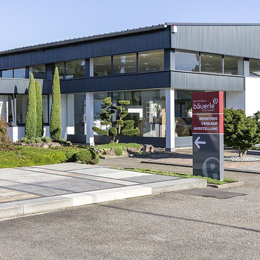 Baeuerle Baustoffe Unternehmen Gebaeude Aussenanlage