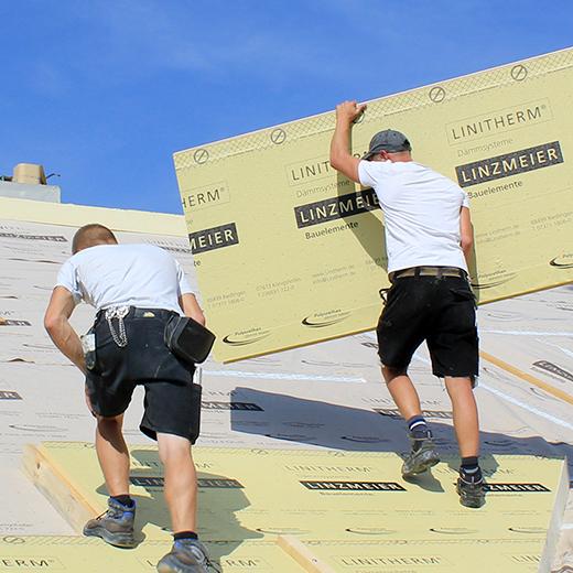 Baeuerle Baustoffe Dachdaemmung