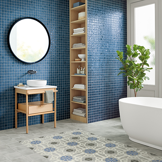 Baeuerle Baustoffe Mosaikfliesen für Bäder